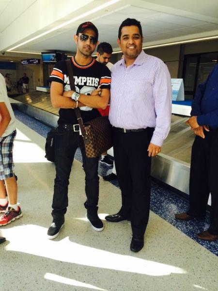 With Punjabi Actor,Singer,Director & Producer Gippy Garewal